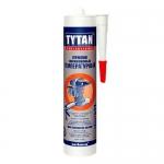 Герметик термостойкий (315*C) силикон. красный Tytan, 310мл (19380) (12 шт/уп)