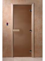 Дверь «Бронза матовая»