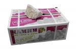 Кварцит белый, обвалованный 20кг (коробка)